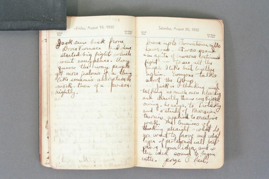 1932 Diary excerpt C P01 34