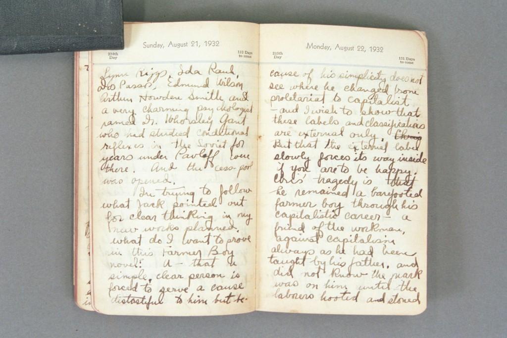 1932 Diary excerpt D P01 35