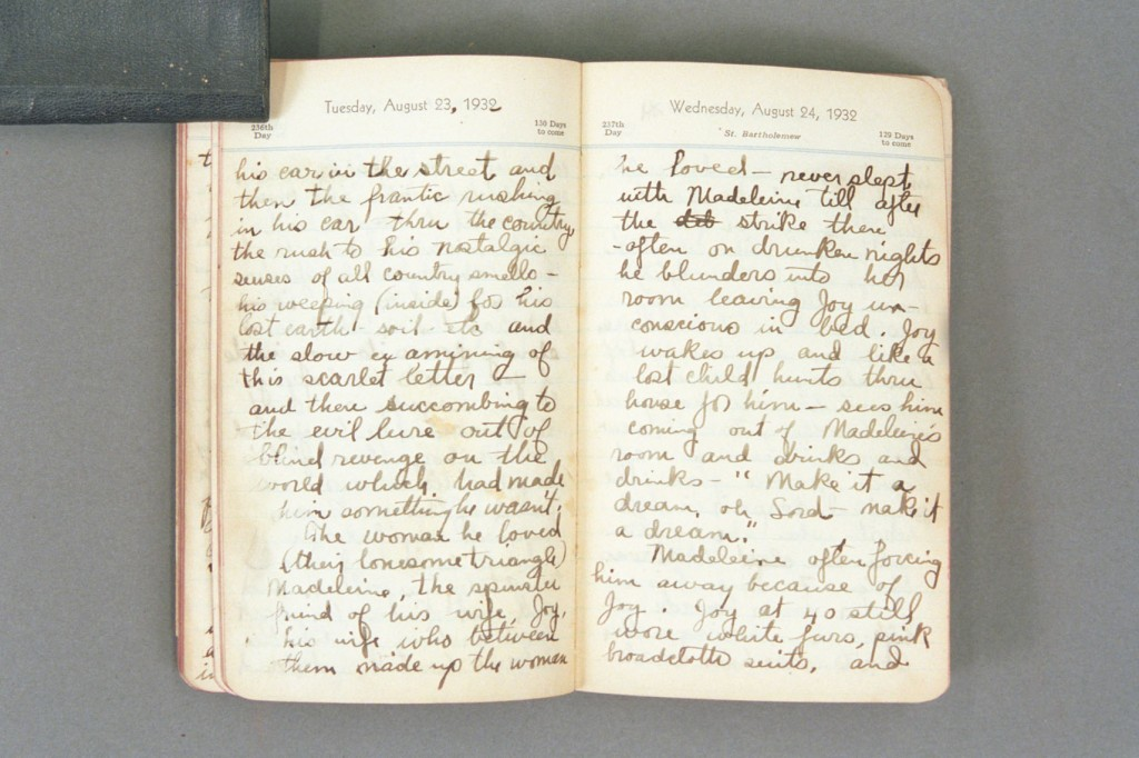 1932 Diary excerpt E P01 36