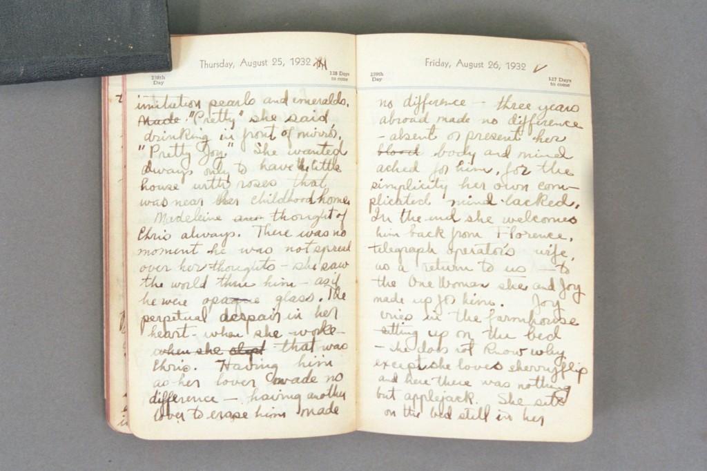 1932 Diary excerpt F P01 37