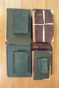 Covers 1920-1942 Diaries