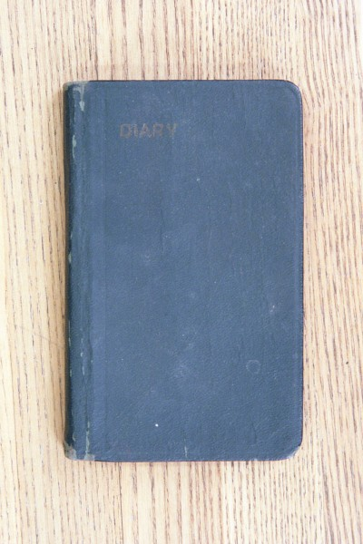 Cover 1925 Diary