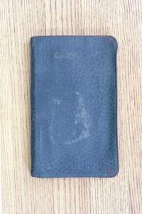 Cover 1927 Diary