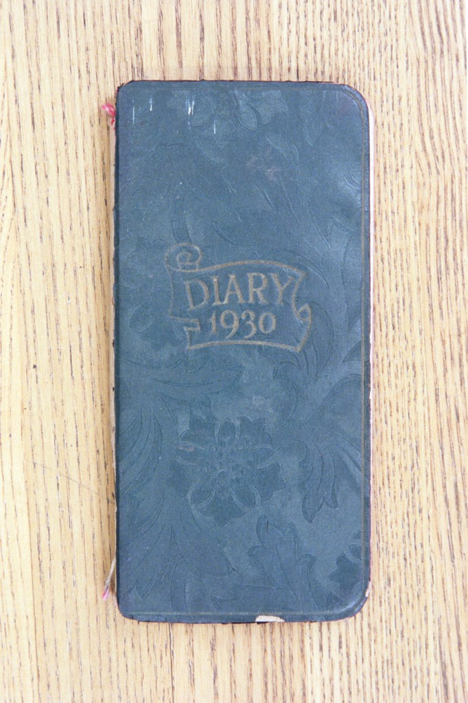 Cover 1930 Diary