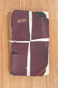 Cover 1935 Diary