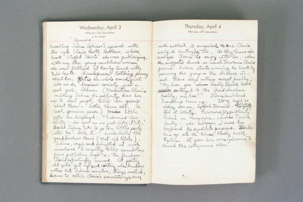 1940 Diary excerpt