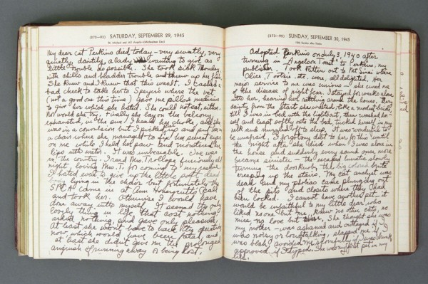 1945 Diary excerpt A P03 20