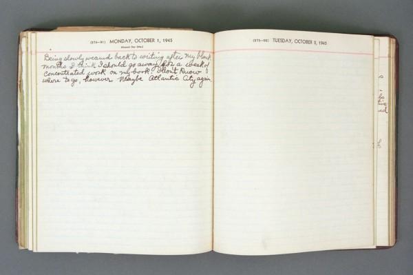 1945 Diary excerpt B P03 21