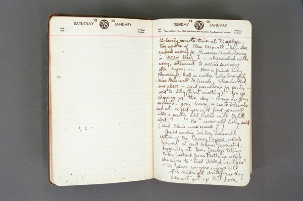 1950 Diary excerpt A P03 14