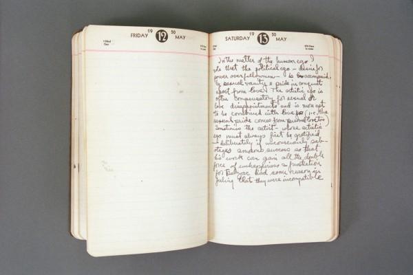 1950 Diary excerpt D P03 13