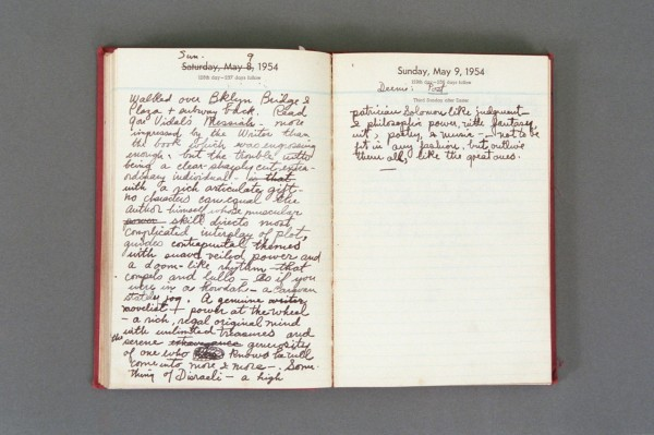1954 Diary excerpt A P02 29