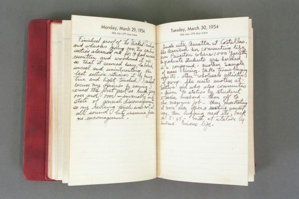 1954 Diary excerpt B P02 30