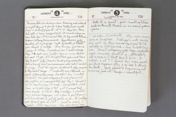 1955 Diary excerpt P02 19
