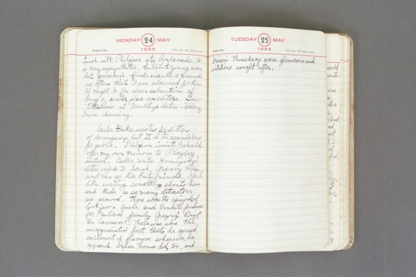 1965 Diary excerpt A P02 36