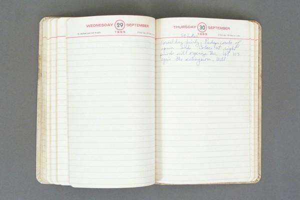 1965 Diary excerpt D P02 34