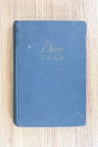 Cover 1940 Diary