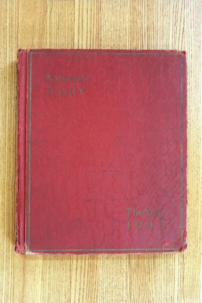 Cover 1943 Diary