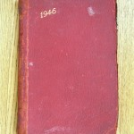 Cover 1946 Diary