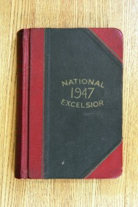 Cover 1947 Diary
