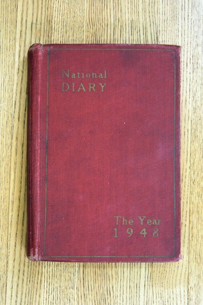 Cover 1948 Diary