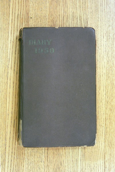 Cover 1950 Diary