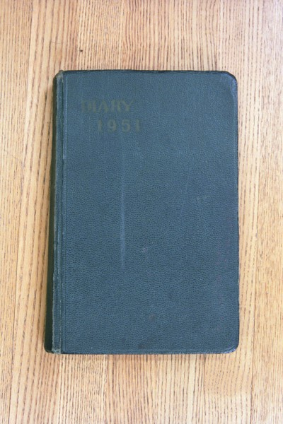 Cover 1951 Diary