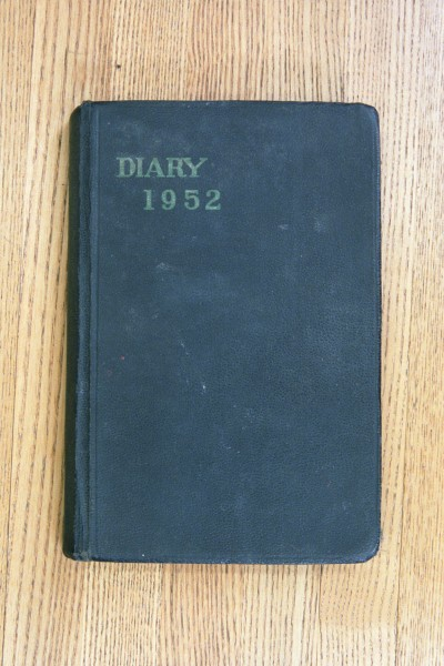 Cover 1952 Diary
