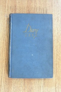 Cover 1953 Diary
