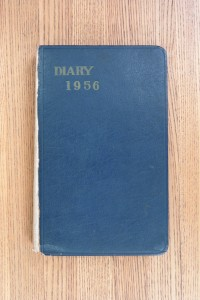 Cover 1956 Diary