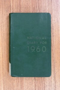 Cover 1960 Diary