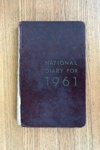 Cover 1961 Diary