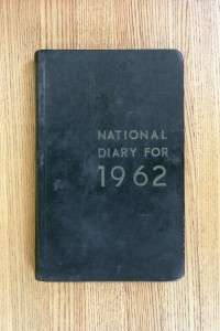 Cover 1962 Diary