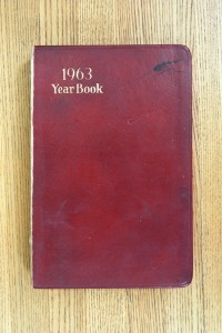 Cover 1963 Diary