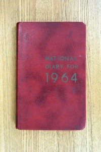 Cover 1964 Diary