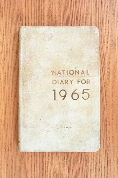 Cover 1965 Diary