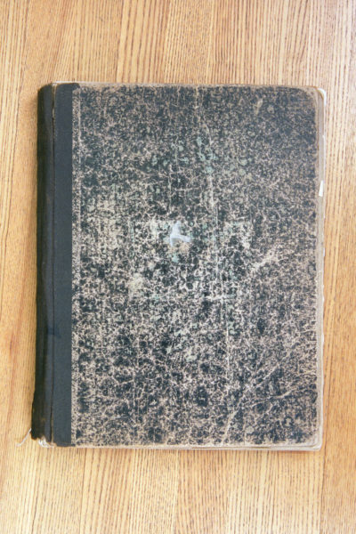 Cover Woggs Diary 1915