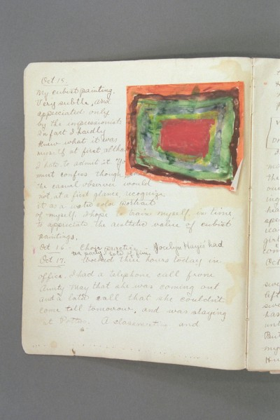 Early Diary excerpt A P04 03