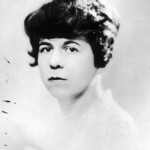 Dawn Powell's first promotional photo, probably taken 1925.